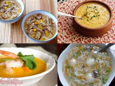 Bật mí 5 món súp ăn dặm vừa ngon vừa giàu chất bổ dưỡng cho bé