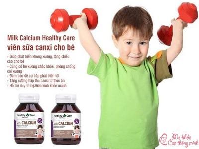Canxi Healthy Care có tốt không? Nên dùng cho trẻ từ khi nào?