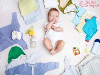 Danh sách chuẩn bị đồ sơ sinh cho bé trai đầy đủ và tiết kiệm nhất