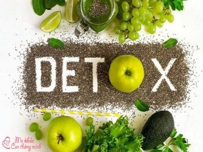 Nước Detox là gì? Cách làm nước detox để giảm cân, làm đẹp da