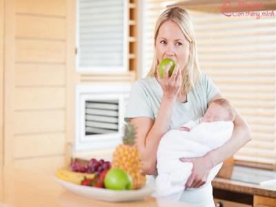 Sau sinh nên ăn quả gì để sữa thơm, tràn trề, ướt áo?