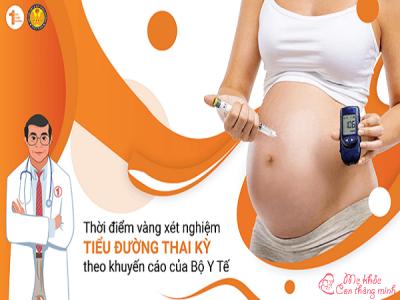 Thời điểm lý tưởng để xét nghiệm tiểu đường thai kỳ là khi nào?