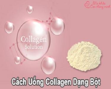 Mách bạn cách uống collagen dạng bột an toàn, hiệu quả