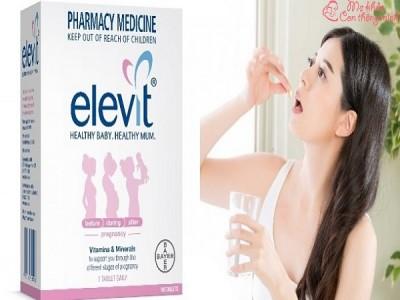 Cách uống Elevit chuẩn nhất giúp mẹ hấp thu tối đa dinh dưỡng