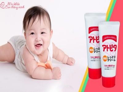 Mách mẹ 5 loại kem dưỡng da cho trẻ sơ sinh tốt nhất hiện nay