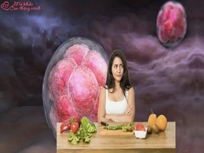 Bà bầu ăn gì để phôi thai phát triển tốt, ngăn ngừa dị tật?