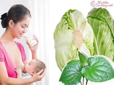 Phụ nữ sau sinh không nên ăn rau gì để tránh mất sữa?