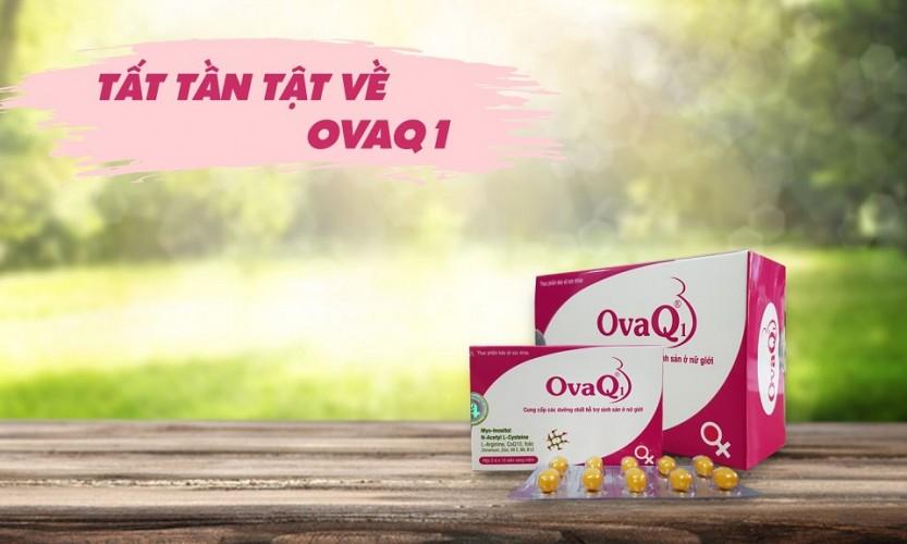 Review: Thuốc OvaQ1 có tốt không? Giá bao nhiêu? Có tác dụng phụ không?