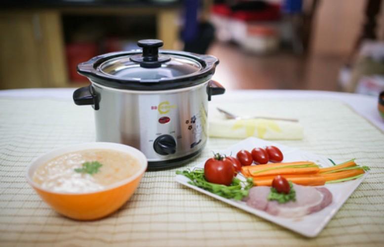 Kinh nghiệm chọn mua nồi nấu cháo chậm tốt nhất cho bé