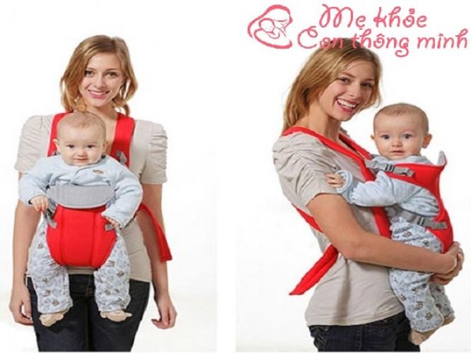 Cách sử dụng địu em bé an toàn tuyệt đối mà mẹ nào cũng cần biết