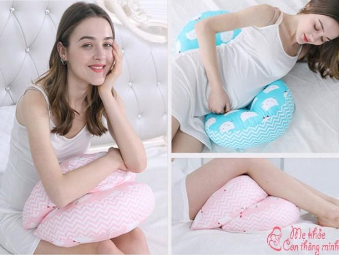 Loại gối ôm nào tốt giúp bà bầu ngủ ngon, không bị đau lưng?