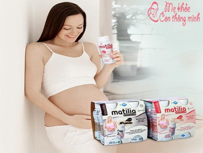Tất tần tận những thông tin về sữa bầu Matilia, mẹ cần phải biết