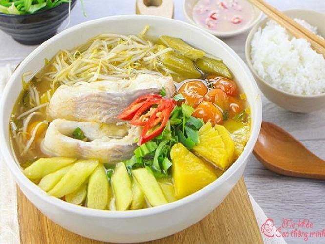 4 công thức nấu canh chua cá ngon hết sảy, ăn là mê