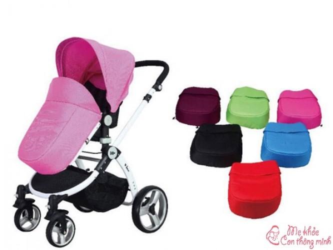 7 phụ kiện xe đẩy em bé cần thiết, bố mẹ không thể bỏ qua