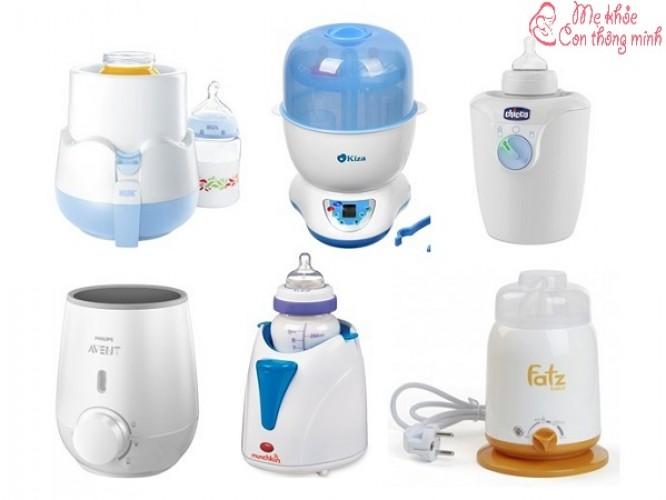 Máy tiệt trùng bình sữa loại nào tốt? Top 5 thương hiệu tốt nhất hiện nay