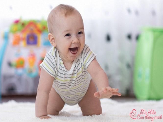 Trẻ mấy tháng biết bò? Mẹo hay giúp trẻ nhanh biết bò