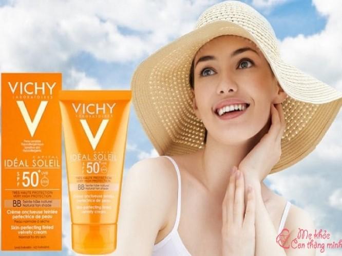 Kem chống nắng Vichy có tốt không? Nên mua loại nào?