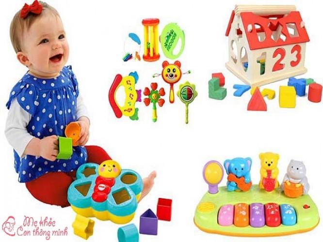 Mách mẹ 7 món đồ chơi cho bé 1 tuổi tốt nhất năm 2021