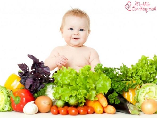 Thực đơn cho bé 1 tuổi giúp bé ăn ngon, ham ăn chóng lớn
