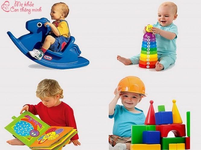 Tiêu chí chọn đồ chơi cho bé 2 tuổi giúp bé thông minh sáng dạ từ nhỏ