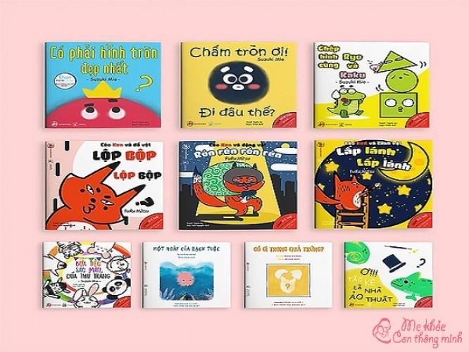 Sách Ehon là gì? Top 5 bộ sách Ehon hay nhất cho bé từ 0 – 1 tuổi