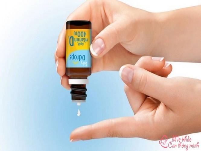 Baby Drops Vitamin D3 có tốt không? Cách dùng ra sao?