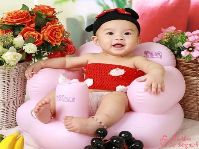 Ghế hơi tập ngồi cho bé là gì? Khi nào nên mua cho bé?