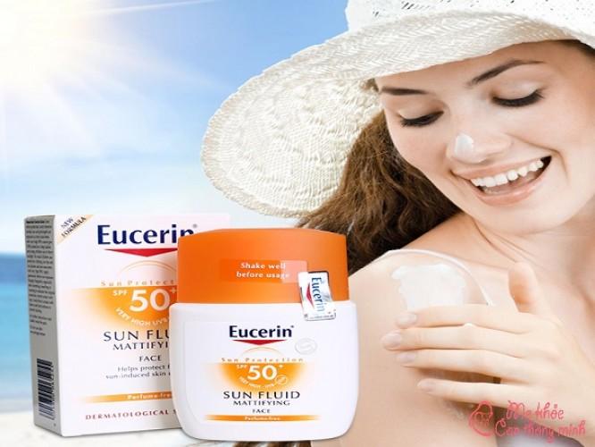 Kem chống nắng Eucerin có tốt không? Nên mua loại nào?
