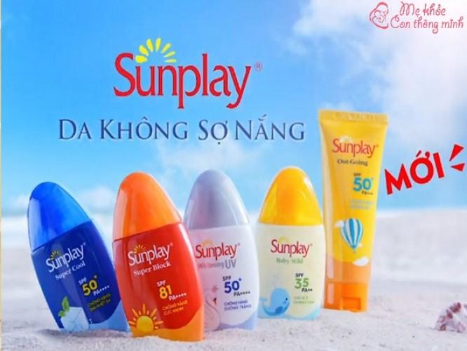 Kem chống nắng Sunplay có tốt không? Nên mua loại nào?