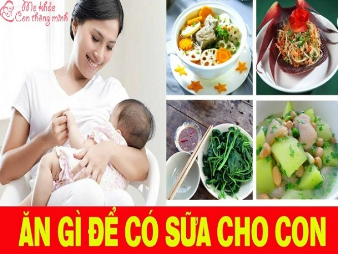 Mẹ ăn gì để sữa đặc, mát, thơm mà không lo tăng cân?