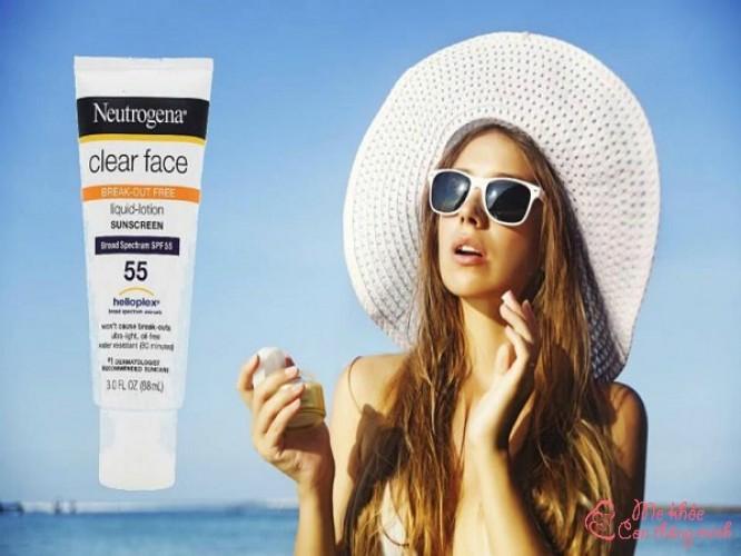 Review top 7 kem chống nắng Neutrogena tốt nhất hiện nay