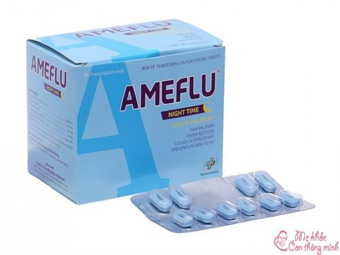 Ameflu là thuốc gì? Công dụng và cách dùng ra sao?