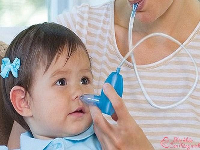 Có nên hút mũi cho bé không? Cách hút mũi an toàn cho bé