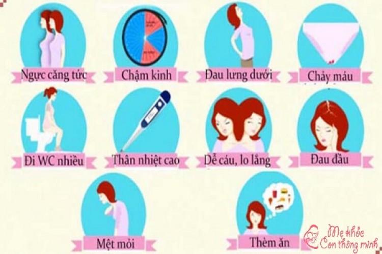 Dấu hiệu nhận biết mang thai tuần đầu, bạn không nên bỏ qua