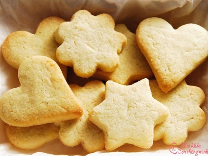 Mách mẹ 4 cách làm bánh quy không cần lò nướng tại nhà