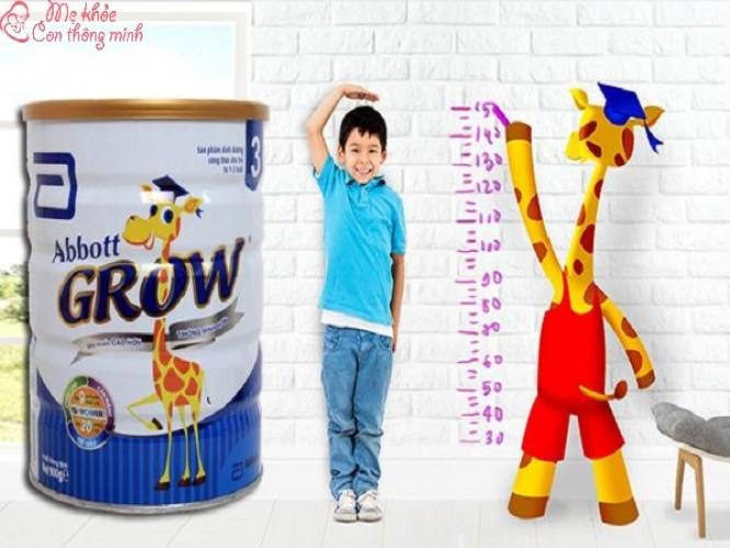 Sữa Abbott Grow có tốt không? Mẹ có nên dùng cho bé không?