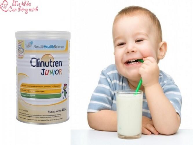 Sữa Clinutren có tốt không? Nên dùng cho con trong trường hợp nào?