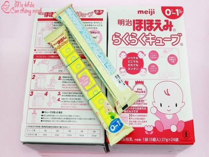 Sữa Meiji thanh pha như thế nào là đúng chuẩn công thức?