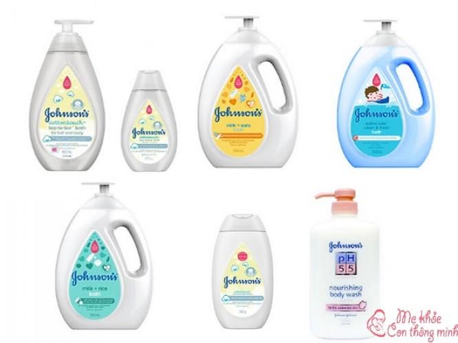 Sữa tắm Johnson Baby có tốt không? Có nên dùng cho trẻ không?