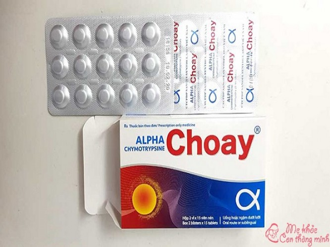 Thuốc Alpha Choay có tác dụng gì? Có dùng được cho trẻ không?