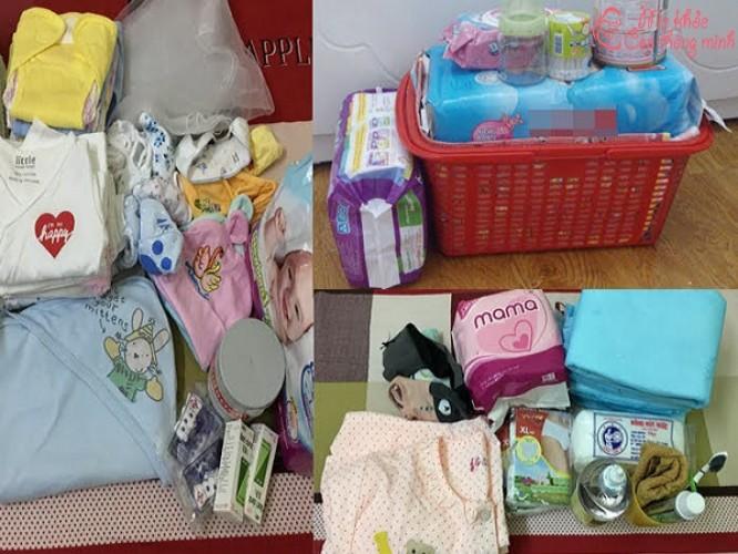 Danh sách chuẩn bị giỏ đồ đi sinh ở bệnh viện cho cả mẹ và bé