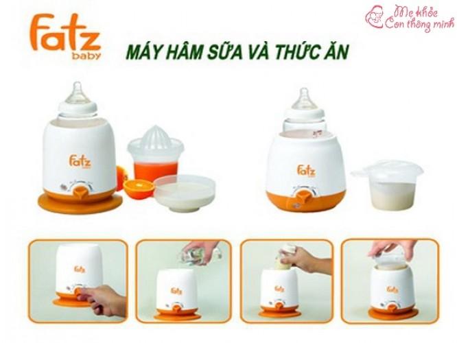 Hướng dẫn chi tiết cách sử dụng máy hâm sữa Fatzbaby