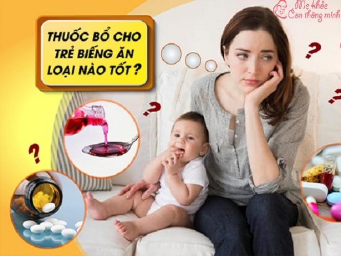 5 loại thuốc bổ cho trẻ biếng ăn được các chuyên gia khuyên dùng