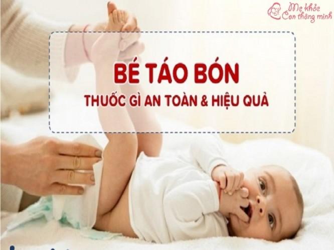 Review top 5 thuốc chữa táo bón cho trẻ sơ sinh tốt nhất hiện nay