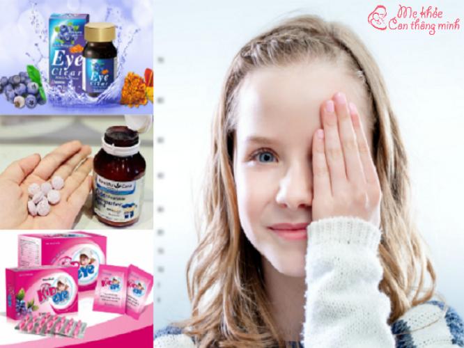 Top 5 loại thuốc bổ mắt dành cho trẻ em tốt nhất hiện nay