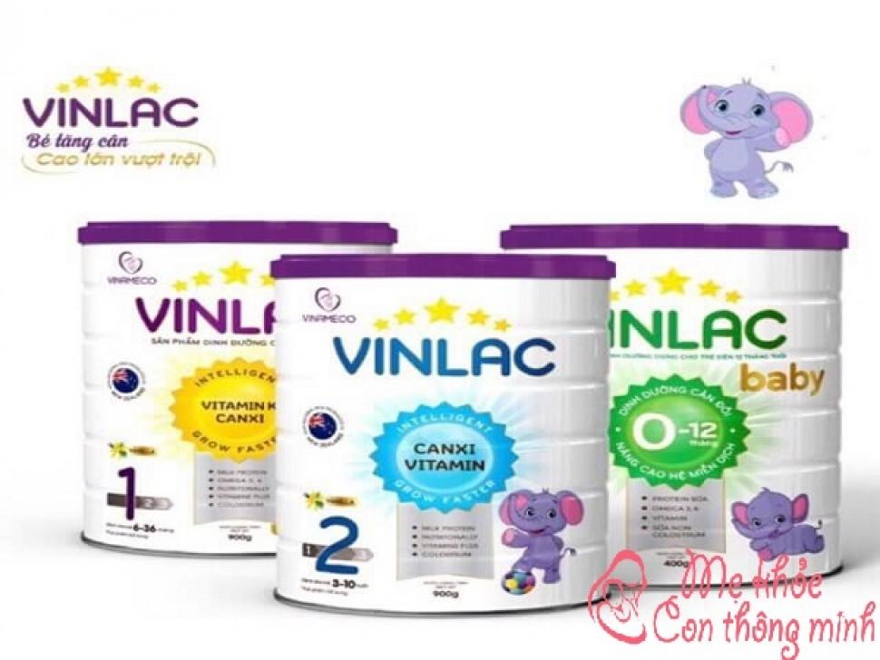Sữa Vinlac có tốt không? Những lời review đắt giá nhất về sữa Vinlac