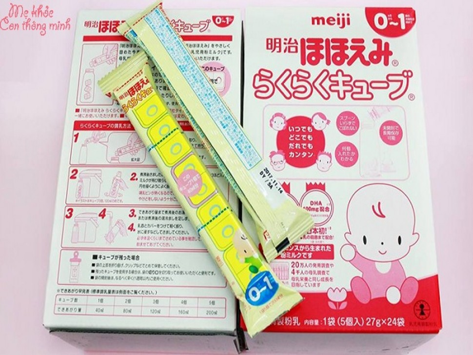 Sữa Meiji thanh có tốt không? Mẹ có nên dùng cho bé không?