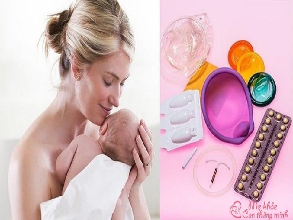 Top 7 phương pháp tránh thai sau sinh tốt nhất hiện nay