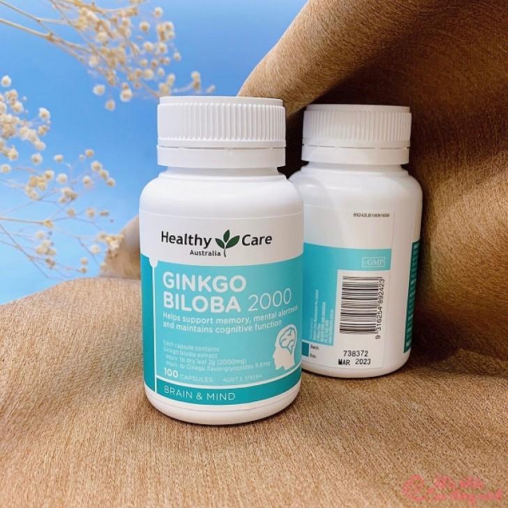 Ginkgo Biloba 2000 có tác dụng gì? Cách dùng Ginkgo Biloba 2000