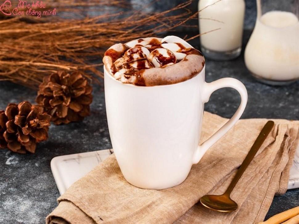 Mách bạn cách làm sữa socola nóng thơm ngon, béo ngậy tại nhà